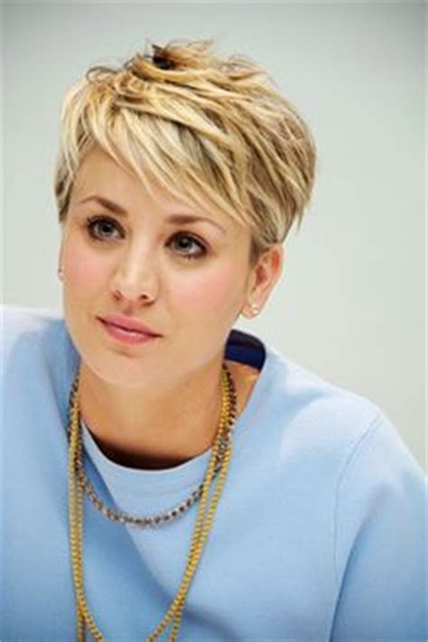 how to style pixie like penny from big bang kaley cuoco hair and short hairstyles on pinterest