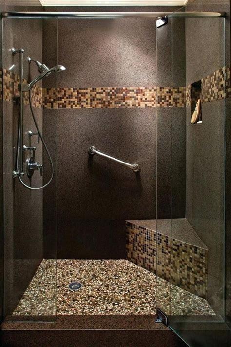 River Rock Bathroom Tile Home Design Ideas Bathroom