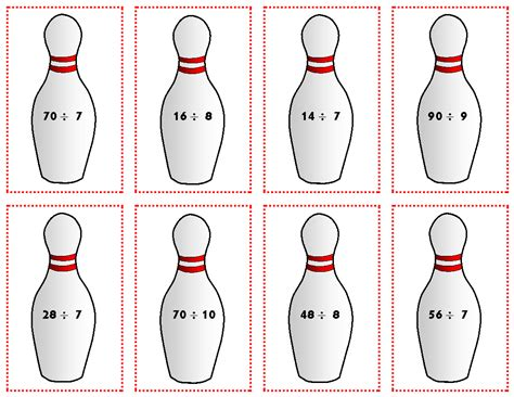 printable bowling images relentlessly fun deceptively educational printable