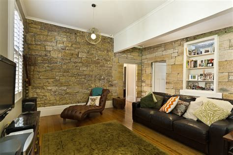 stone wall living room gorgeous living rooms with stone walls