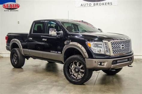 2017 Titan Lifted by 2017 Nissan Titan Lifted For Sale 12 Used Cars From 32 197