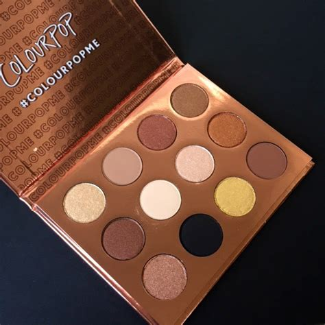 Colourpop Eyepalette I Think I You colourpop cosmetics i think i you eyeshadow palette review and swatches a sweet