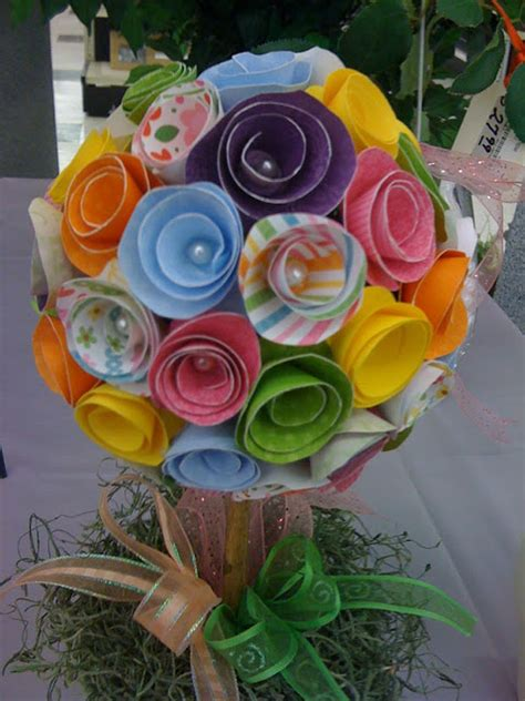 Paper Flower Bouquet Craft - a craft paper flower bouquets 187 bellissima