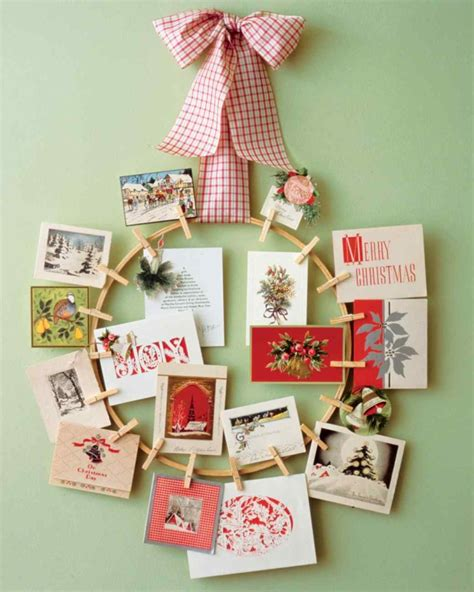 how to display christmas cards 5 ways to display holiday cards