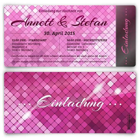 Hochzeitseinladungen Pink by In Pink Hochzeitseinladungen Bestellen