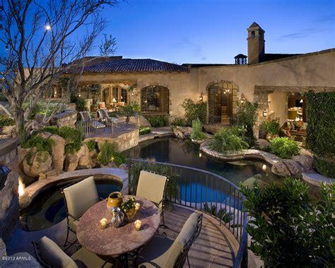 glamourous spanish style mansion