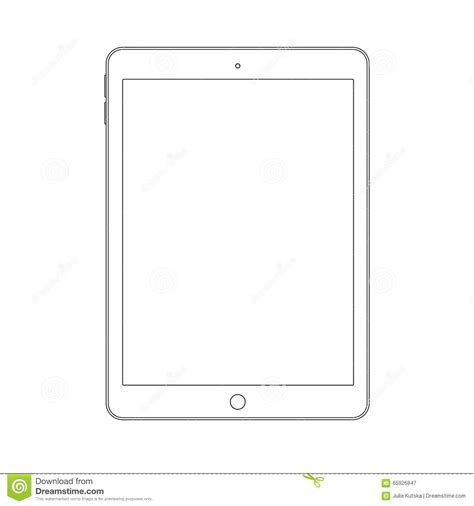 Tablet Drawing tablet outline www pixshark images galleries with a bite