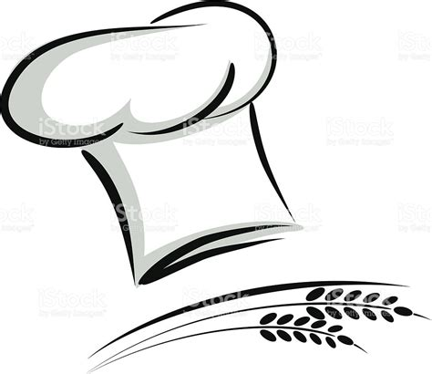 cook hat chef hat with wheat stock vector art 180062842 istock