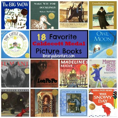 caldecott picture books 18 favorite caldecott medal winning books