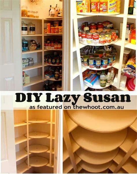 Lazy Susan In Pantry by Build Corner Cabinet Lazy Susan Woodworking Projects Plans