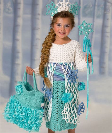 Pattern Princess Dress Free | letsjustgethooking snow princess dress free crochet pattern
