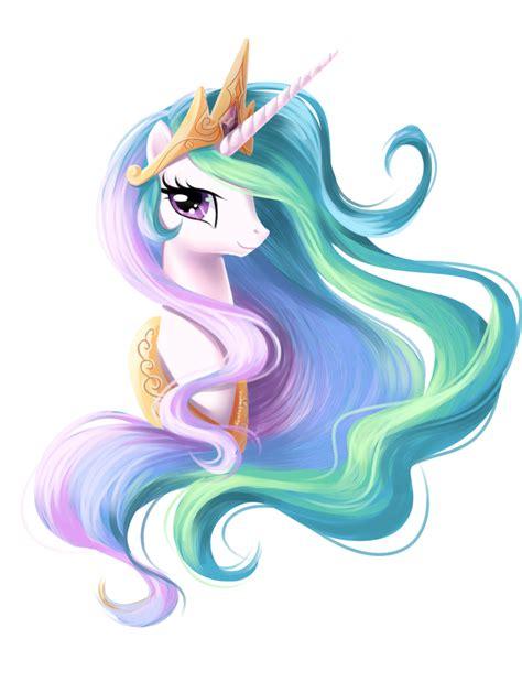 Celestia Portrait By Fantazyme On Deviantart My Pony Princess Celestia Pictures