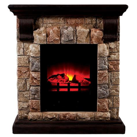 Electric Faux Fireplace by 27 25 Quot Vesti Faux Electric Fireplace