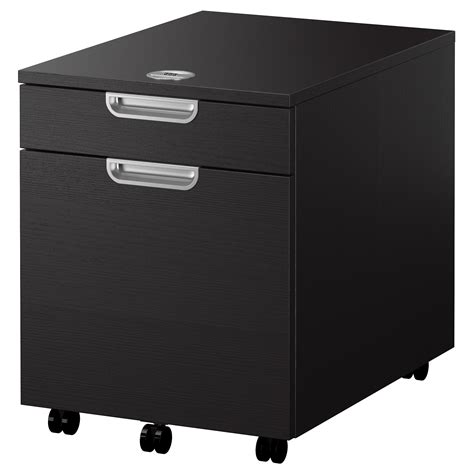 Black Storage Unit With Drawers Galant Drawer Unit With Drop File Storage Black Brown