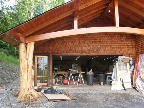 middlesex timber frame carport eclectic shed