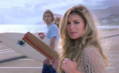hot girl buick commercial in cabana marisa miller buick enclave ad airs with stunned surfer