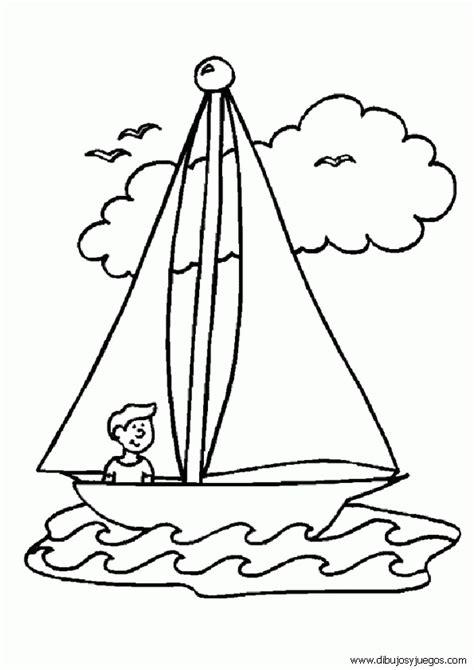 dibujos de barcos para imprimir y colorear dibujo de barcos con velas para colorear 003 dibujos y