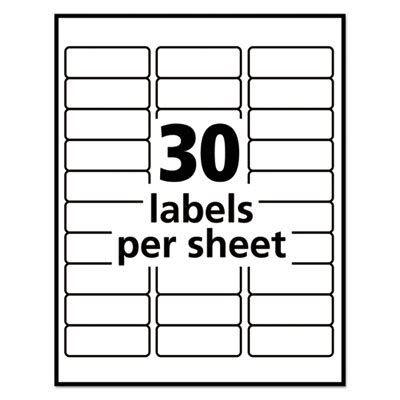 avery template 58160 avery 58160 labels