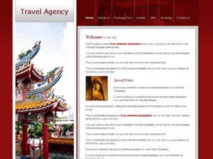 free css templates for online advertising agency travel agency free website template free css templates