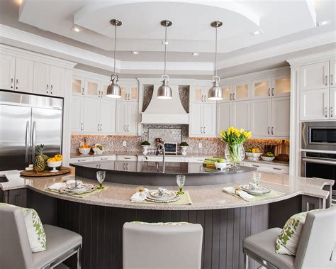 Island In Kitchen by Ontario S Raywal Cabinets Named Best Of Houzz 2017 Woodworking Network