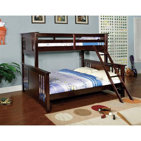 bed miami miami twin over queen bunk bed