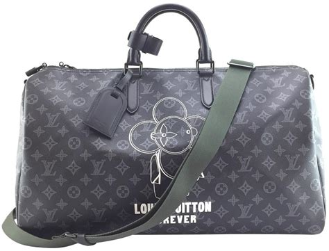 louis vuitton duffle vivienne keepall  extremely