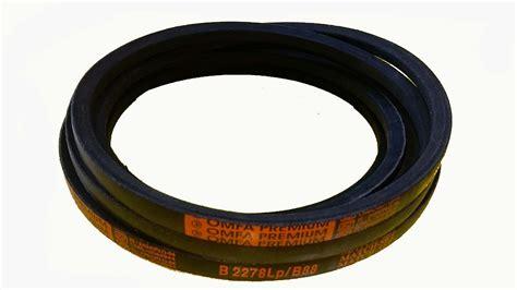 a section v belt omfa premium v belt b 37 sparesswala