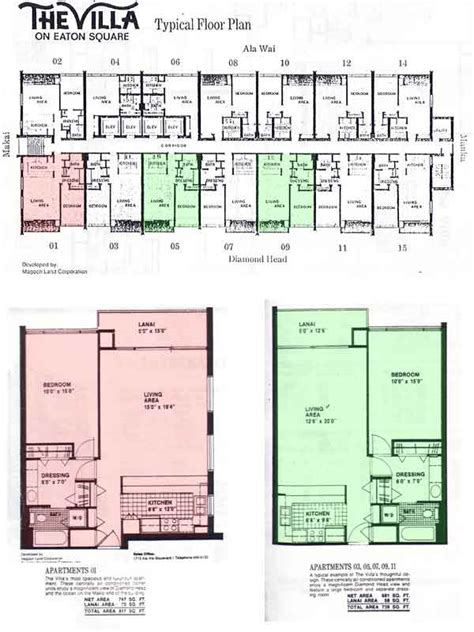 ilikai hotel floor plan villa on eaton square honolulu hawaii condo by hicondos