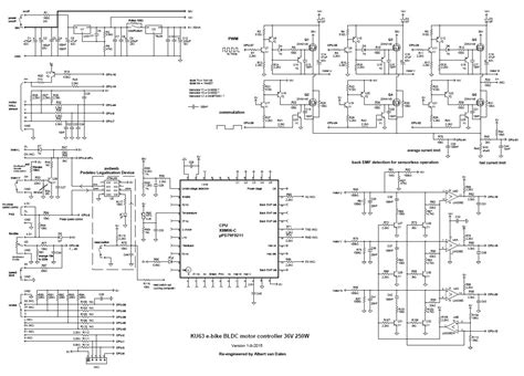 brushless motor controller schematic brushless free