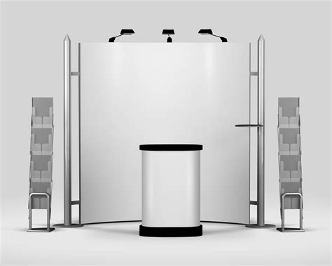 booth design mockup trade show exhibition booth mockup vectogravic designs
