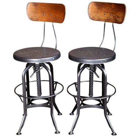 vintage industrial chairs and stools 29 best images about industrial vintage bar stool on