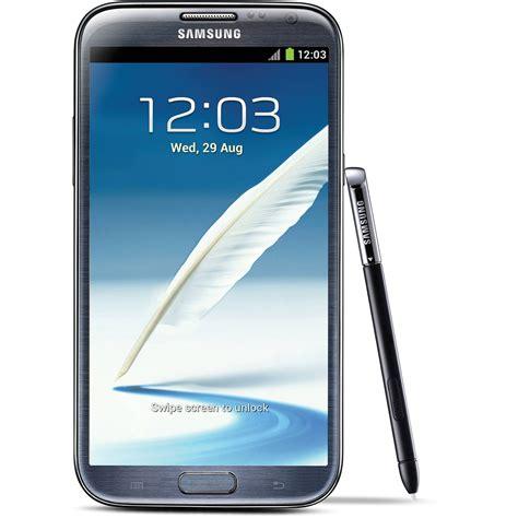 h samsung galaxy samsung galaxy note 2 sgh i317 16gb at t i317 titanium b h