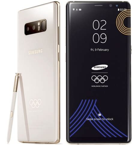 Samsung Note 8 Feb 2018 samsung to gift athletes with 2018 winter olympics themed galaxy note 8 kenyayote