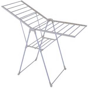 foldable gullwing clothes laundry drying rack folding
