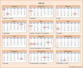 Kalender 2018 Dan Tanggal Merahnya Kalender 2012 Indonesia Chocky Sihombing