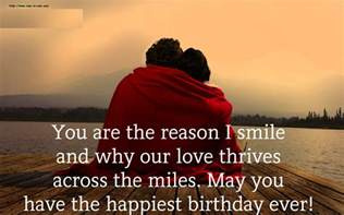Happy Birthday To Him Quotes Happy Birthday Wishes To My Love Love Relationship