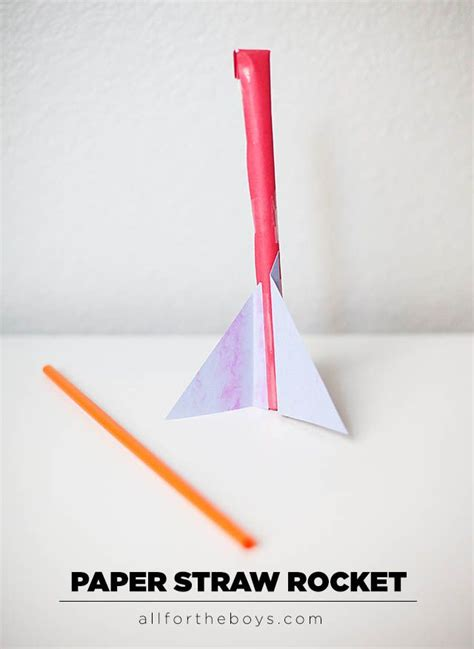 How To Make A Paper Rocket For School Project - 131 best ideas about for children summer c