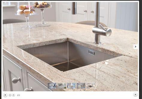 Ivory Granite Worktop Kitchen Plan