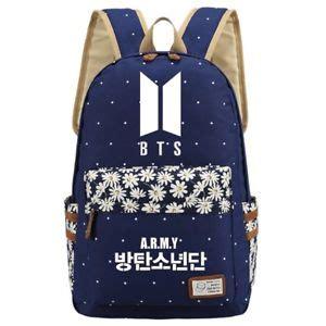 Backpack Btskpop new kpop bts backpack suga jimin bangtan boys jin j shoulder school bag ebay