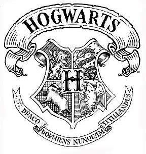 Hogwarts Acceptance Letter Logo My Black And Hogwarts On