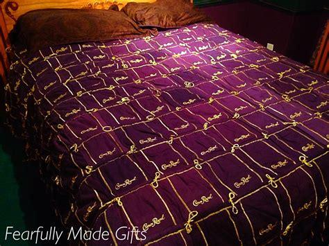 Sale Handmade Crown Royal Bag Quilt Blanket Comforter King