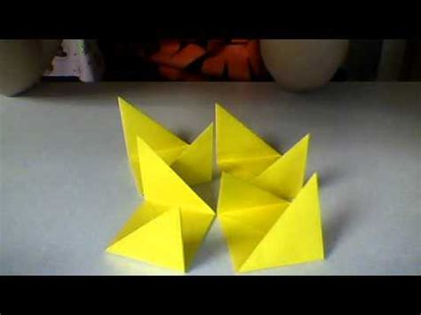 Movable Origami - how to make origami moving cubes part i
