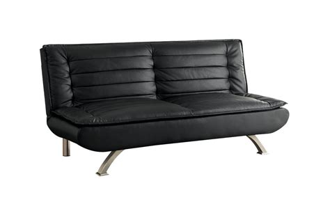 Black Leather Futons by Black Leather Futon 500055