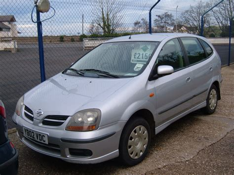 nissan almera 2002 nissan almera tino pictures information and specs
