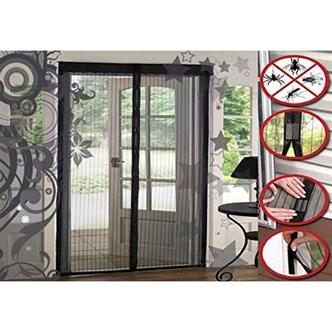 mesh door curtain magnetic fly screen mesh door curtain curtain