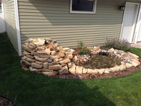 water features contractor st paul landscaping