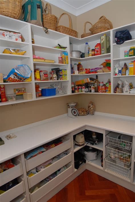 walk in pantry shelves dazzling walk in kitchen pantry designs with l shaped