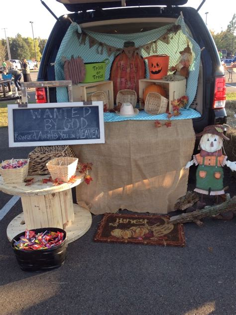 halloween themes for church 36 best trunk or treat images on pinterest trunk or