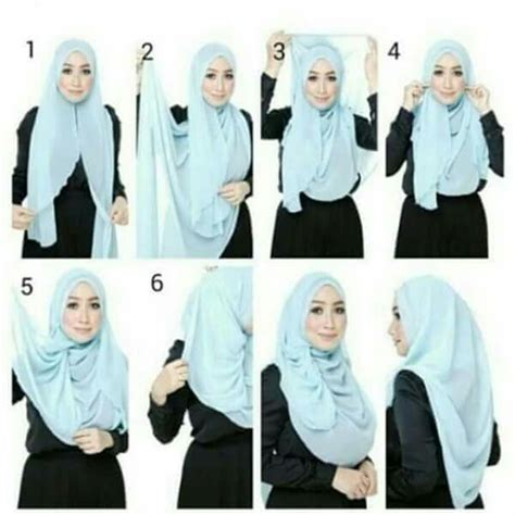 tutorial jilbab pashmina purple styles by ellen 51 best images about tutorial of hijab on pinterest