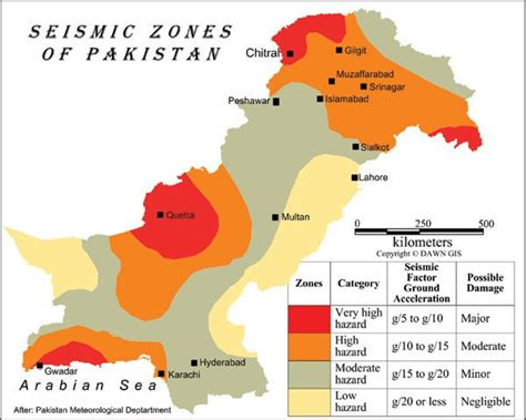 earthquake zones in pakistan chitraltoday on twitter quot chitral among the very quot high